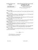 Đề thi học sinh giỏi Sử 11 - (Kèm Đ.án)