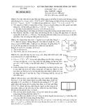 2 đề thi chọn HSG cấp tỉnh Vật lý 11  - (Kèm Đ.án)