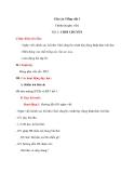 Giáo án Tiếng Việt 3 tuần 1 bài: Chính tả - Nghe - viết: Chơi chuyền, phân biệt ao/oao, l/n, an/ang