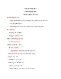 Giáo án bài Chính tả: Nghe, viết: Chiếc áo len - Tiếng việt 3 - GV.N.Phương Mai