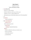 Giáo án bài Luyện từ và câu: So sánh, dấu chấm - Tiếng việt 3 - GV.N.Phương Mai