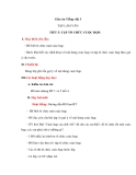 Giáo án bài Tập làm văn: Tập tổ chức cuộc họp - Tiếng việt 3 - GV.N.Phương Mai