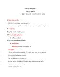 Giáo án bài Tập làm văn: Kể về người hàng xóm - Tiếng việt 3 - GV.N.Phương Mai