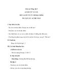 Giáo án bài LTVC: Ôn tập về các từ chỉ đặc điểm, Ai như thế nào? - Tiếng việt 3 - GV.N.Phương Mai