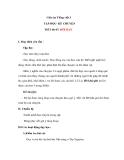 Giáo án bài Tập đọc: Đôi bạn - Tiếng việt 3 - GV.N.Phương Mai