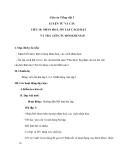Giáo án bài LTVC: Nhân hóa. Ôn tập đặt, trả lời câu hỏi - Tiếng việt 3 - GV.N.Phương Mai