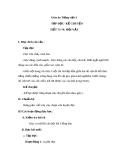 Giáo án bài Tập đọc: Hội vật - Tiếng việt 3 - GV.N.Phương Mai