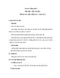 Giáo án bài Tập đọc: Gặp gỡ ở Lúc-xăm-bua - Tiếng việt 3 - GV.N.Phương Mai