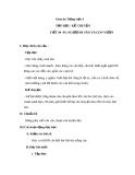 Giáo án bài Tập đọc: Người đi săn và con vượn - Tiếng việt 3 - GV.N.Phương Mai