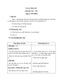 Giáo án bài Chính tả: Nghe, viết: Thì thầm - Tiếng việt 3 - GV.N.Phương Mai