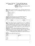 Kỳ thi chọn HSG Tin học 12 (2010-2011) - GD&ĐT tỉnh Yên Bái (Kèm Đ.án)
