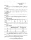 Đề thi học sinh giỏi Địa lí 9 năm 2011-2012 - Kèm Đ.án