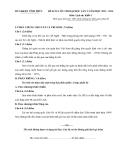 Đề KTCL ôn thi ĐH lần 2 môn Sử khối C (2013-2014) - GD&ĐT Vĩnh Phúc (Kèm Đ.án)
