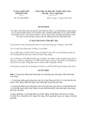 Quyết định 1661/QĐ-UBND