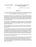 Thông báo 68/TB-VPCP năm 2014