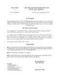 Quyết định 2423/QĐ-BTP