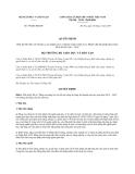 Quyết định 798/QĐ-BGDĐT năm 2014