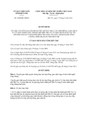 Quyết định 1660/QĐ-UBND