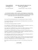 Quyết định 36/2013/QĐ-UBND tỉnh Bình Dương