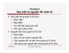 Bài giảng Quản lý học: Chương 2 - Th.S Nguyễn Quang Huy
