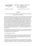 Chỉ thị 05/2013/CT-UBND tỉnh Lâm Đồng