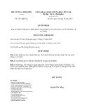 Quyết định 1911/QĐ-TTg năm 2013