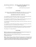 Quyết định 4415/QĐ-BGDĐT