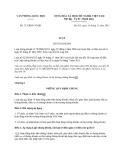 Văn bản hợp nhất 27/VBHN-VPQH