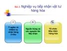 Bài giảng Kinh doanh kho và bao bì: Bài 2 - Ths. Nguyễn Thị Minh Nguyệt