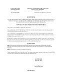 Quyết định 4366/QĐ-UBND năm 2013