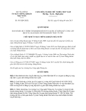 Quyết định 543/QĐ-UBCK năm 2013