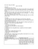 Giáo án Bài 25: Tự cảm Vật lý 11 - Nông Văn Thiện