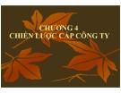 Bài giảng Quản trị chiến lược: Chương 4 - ThS Nguyễn Thu Trang