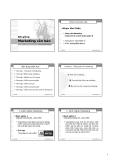 Bài giảng Marketing căn bản: Chương 1 - Phạm Văn Chiến