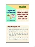 Bài giảng Quản trị chiến lược: Chương 9 - TS. Nguyễn Văn Sơn