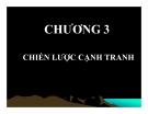 Bài giảng Quản trị chiến lược: Chương 3 - ThS Nguyễn Thu Trang