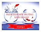 Bài giảng Quản trị chiến lược: Chương 2 - ThS Nguyễn Thu Trang