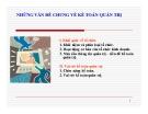 Bài giảng Kế toán quản trị - Chương 1: Những vấn đề chung về kế toán quản trị