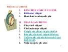 Bài giảng Kế toán quản trị - Chương 2: Phân loại chi phí