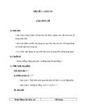 Giáo án Đại số 7 chương 1 bài 10: Làm tròn số