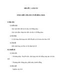 Giáo án Đại số 7 chương 1 bài 8: Tính chất của dãy tỉ số bằng nhau