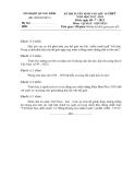 Kỳ thi  vào lớp 10 THPT môn Lịch sử chuyên (2012 -2013) - Sở GD&ĐT Quảng Bình - (Kèm Đ.án)