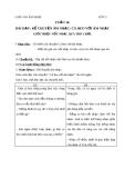 Bài 16: Kể chuyện âm nhạc: Cá heo với âm nhạc - Giáo án Âm nhạc 3 - GV:Hồng Thủy