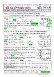 Đề thi cuối HK I - Kỹ thuật điện