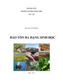 Giáo trình Bảo tồn đa dạng sinh học: Phần I - ThS. Nguyễn Mộng