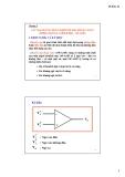 Bài giảng Kỹ thuật điện tử: Chương 5 - Lý Chí Thông
