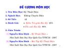 Bài giảng Kỹ thuật điện - ĐH BK TP. Hồ Chí Minh