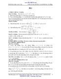 Bộ đề ôn thi ĐH-CĐ môn Toán (Tự luận) - Kèm Đ.án