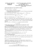 Đề KSCL thi ĐH Toán khối A, A1, B, D (2013-2014) - THPT Triệu Sơn 4 (Kèm Đ.án)