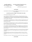 Quyết định 2138/QĐ-BNN-ĐMDN năm 2013